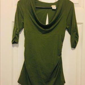 💕Studio Y 3/4 length blouse size M💕